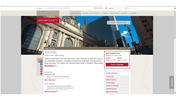 hotel gran hyatt nueva york