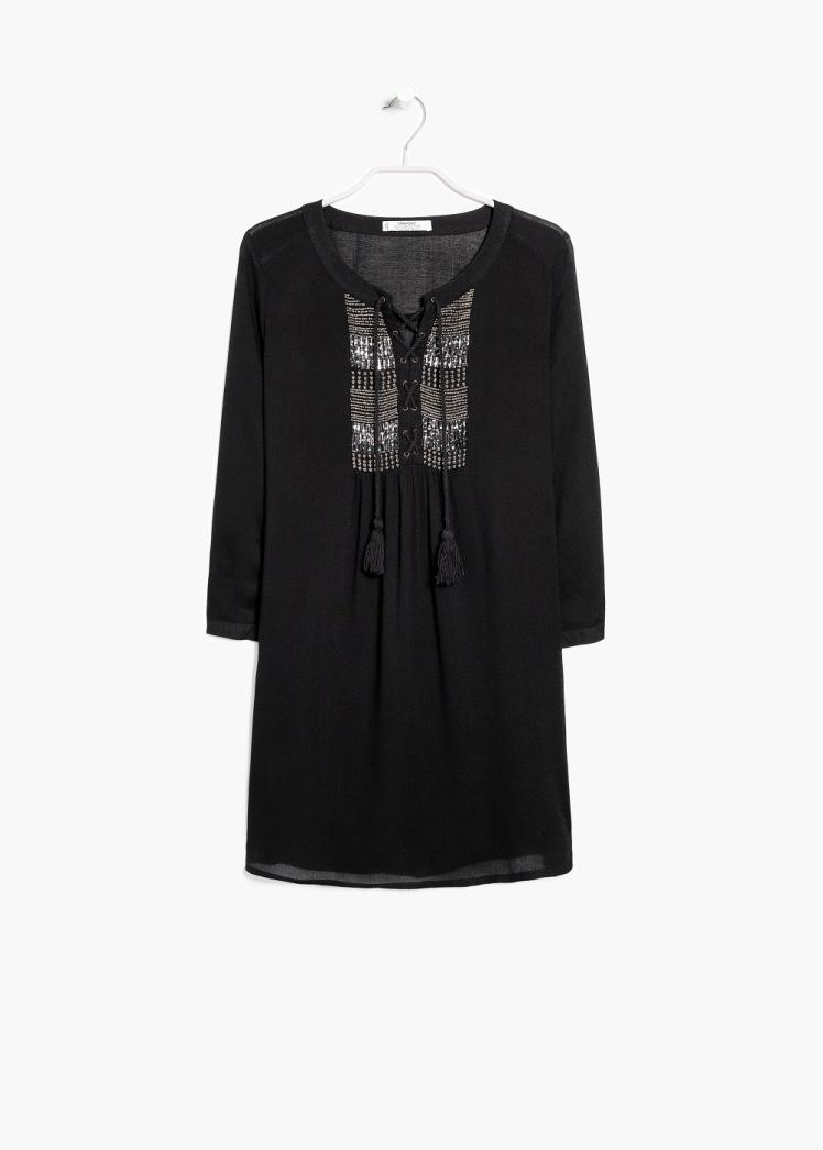 vestido mango negro hippy - copia