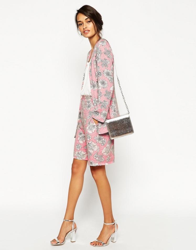 conjunto kimono asos boda rosa