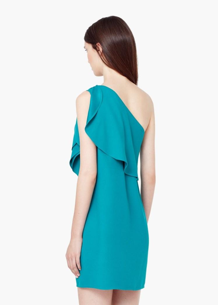 vestido mango azul boda