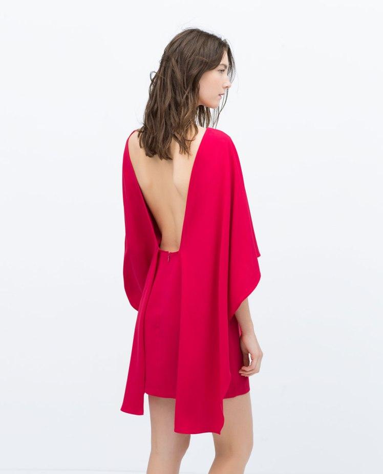 vestido zara escote espalda boda